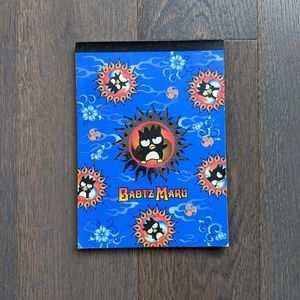 FREE Sanrio Badtz Maru Coloured Stationary Pad